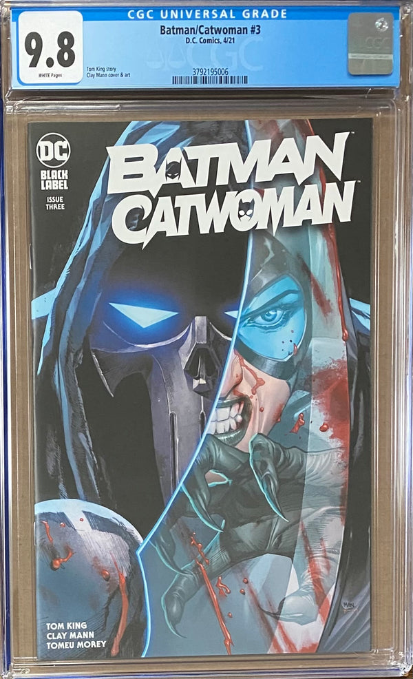 Batman Catwoman #3 DC Black Label CGC 9.8