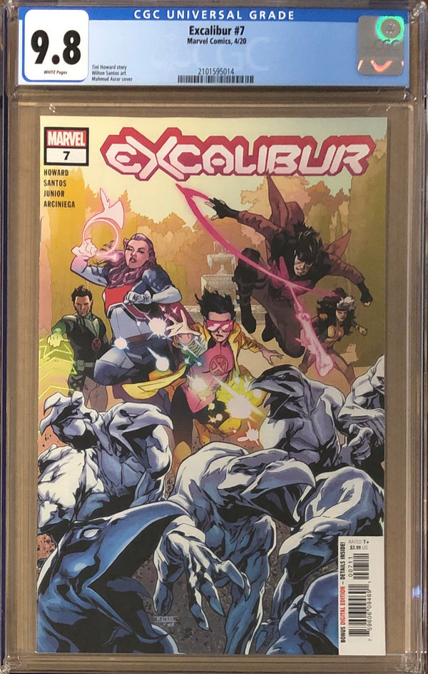 Excalibur #7 CGC 9.8 - Dawn of X!