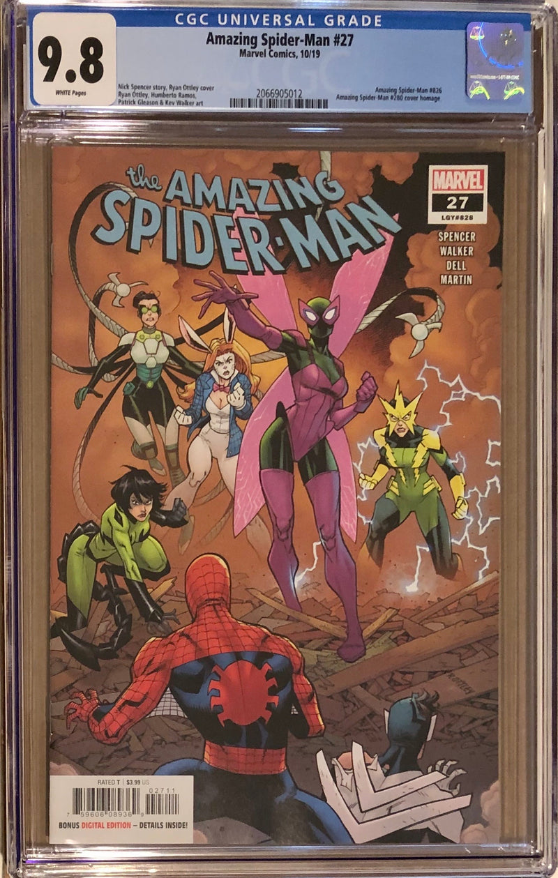 Amazing Spider-Man #27 CGC 9.8