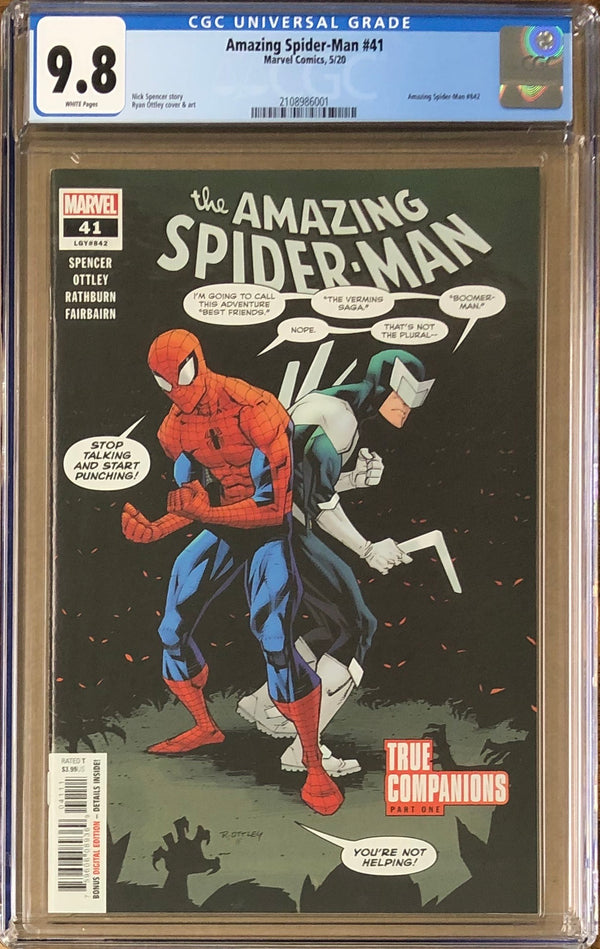 Amazing Spider-Man #41 CGC 9.8