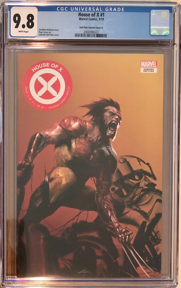 House of X #1 Fan Expo Boston Dell'Otto Con Exclusive CGC 9.8