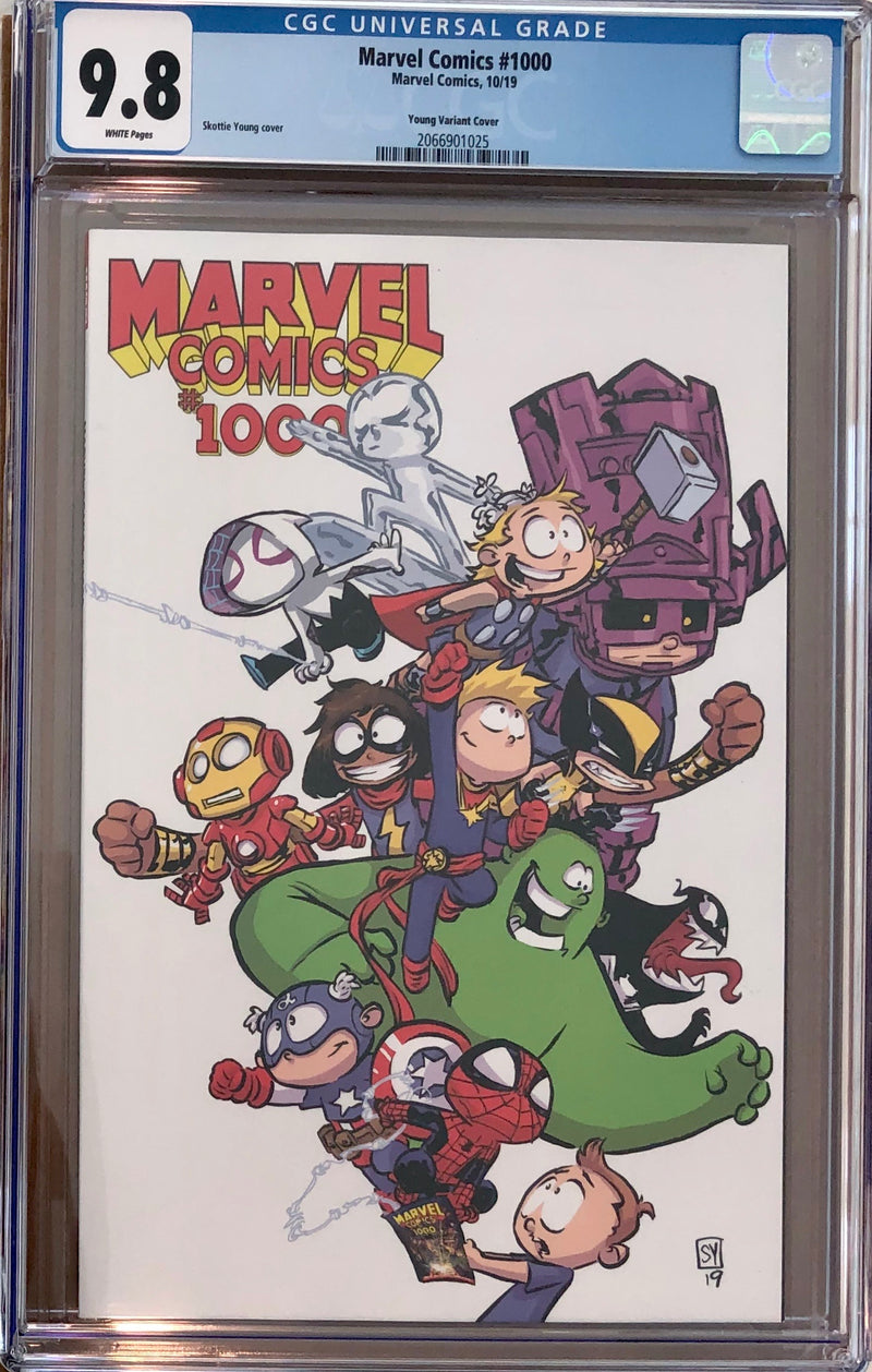 Marvel Comics #1000 Skottie Young Variant CGC 9.8