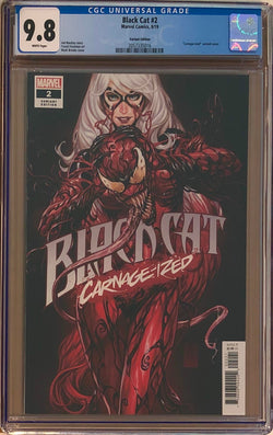 "Black Cat #2 Brooks ""Carnage-ized"" Variant CGC 9.8"