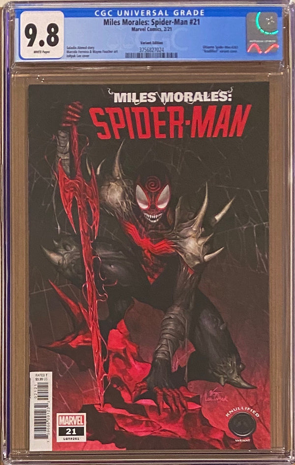 "Miles Morales: Spider-Man #21 ""Knullified"" Variant CGC 9.8"