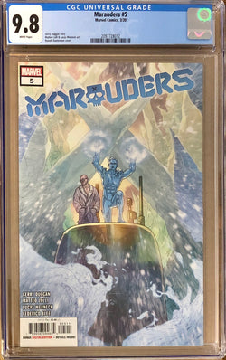 Marauders #5 CGC 9.8 - Dawn of X!
