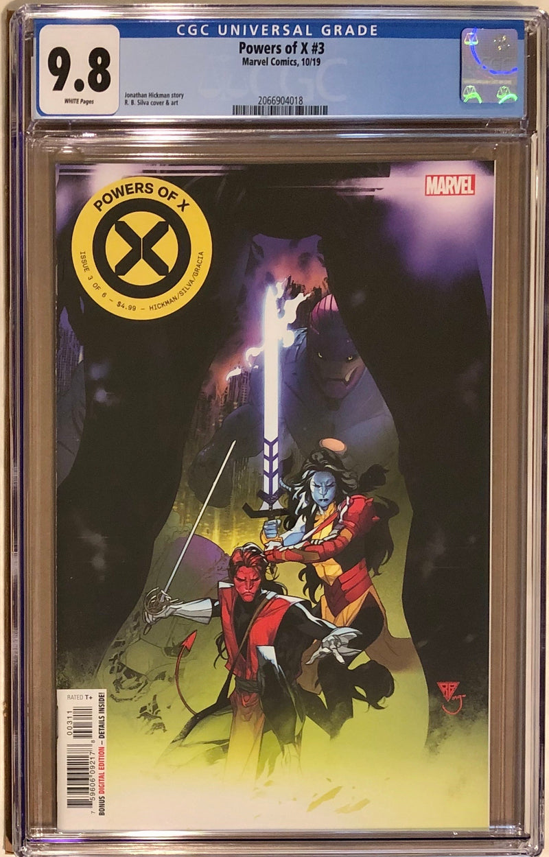 Powers of X #3 CGC 9.8
