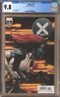 X-Men #6 CGC 9.8 - Dawn of X!
