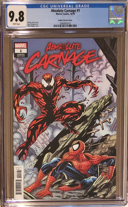 Absolute Carnage #1 Bagley 1:100 Retailer Incentive Variant CGC 9.8