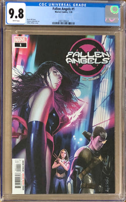 Fallen Angels #1 CGC 9.8 - Dawn of X!