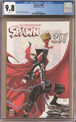 Spawn #301 Regular McFarlane Cover A CGC 9.8