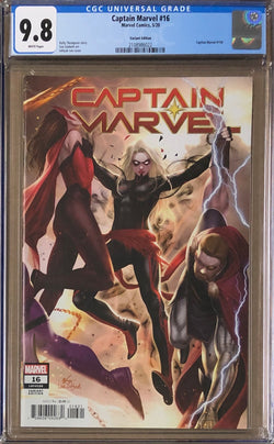 Captain Marvel #16 InHyuk Lee Connecting Variant CGC 9.8