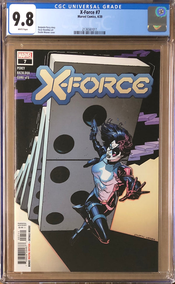 X-Force #7 CGC 9.8 - Dawn of X!