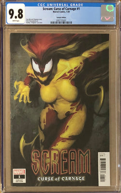 Scream: Curse of Carnage #1 Artgerm Variant CGC 9.8
