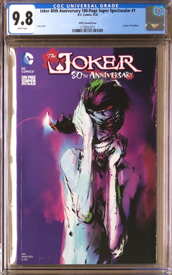 Joker 80th Anniversary 100 Page Super Spectacular #1 Jock 2010s Variant CGC 9.8