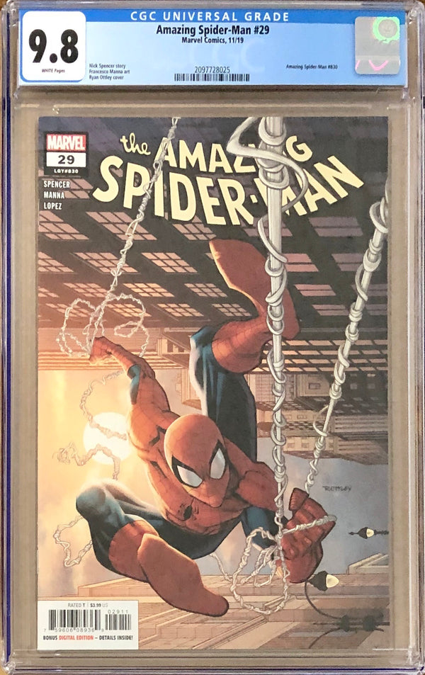 Amazing Spider-Man #29 CGC 9.8