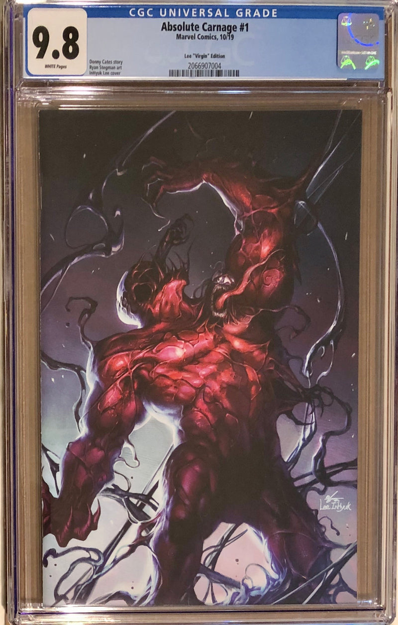 Absolute Carnage #1 InHyuk Lee Fan Expo Boston Virgin Exclusive CGC 9.8