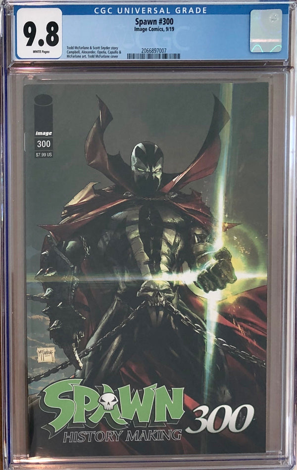 Spawn #300 CGC 9.8 - Regular McFarlane Cover