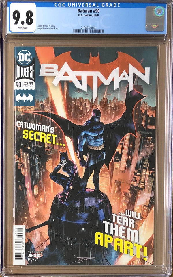 Batman #90 CGC 9.8 1st Appearance of The Designer