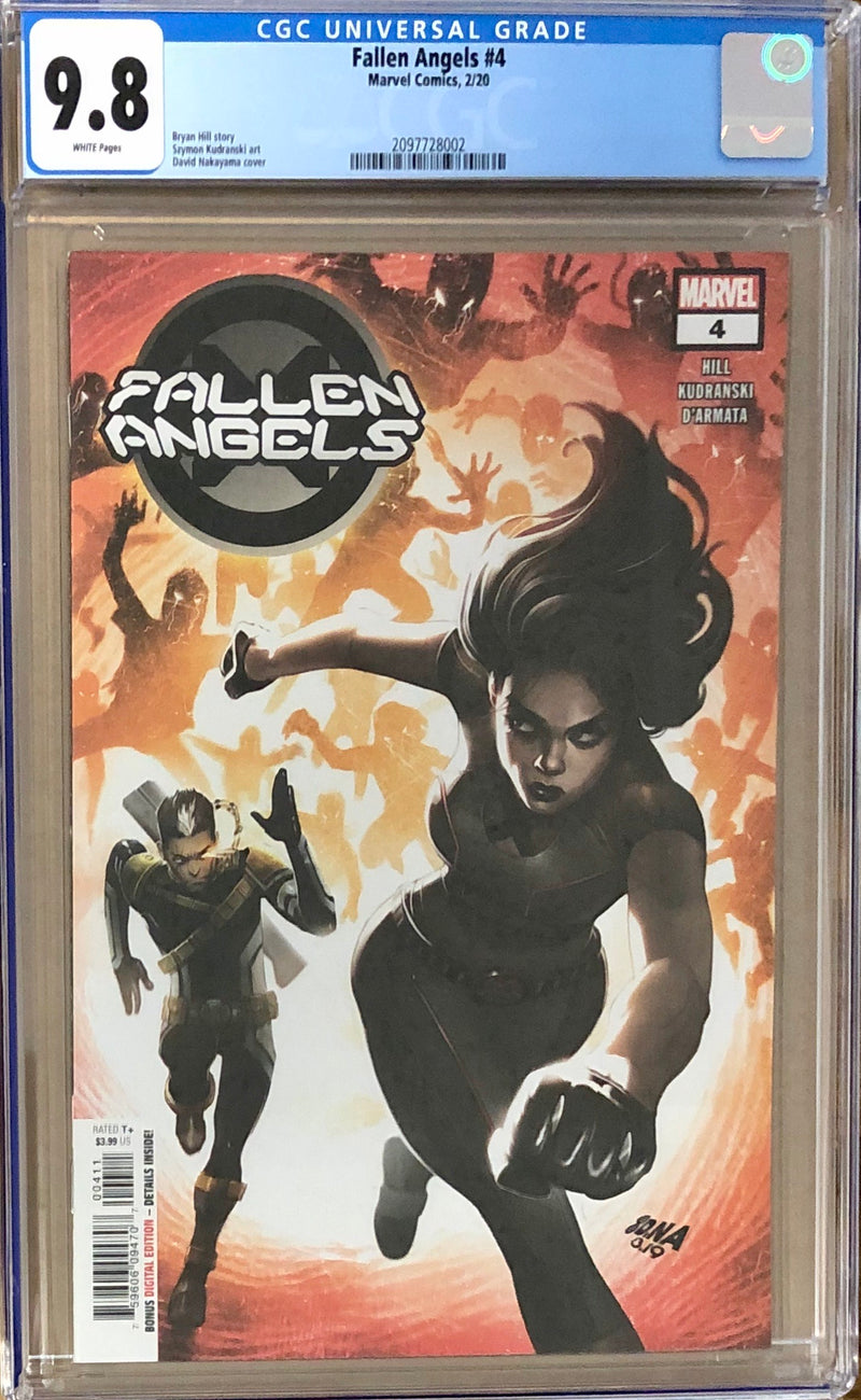 Fallen Angels #4 CGC 9.8 - Dawn of X!