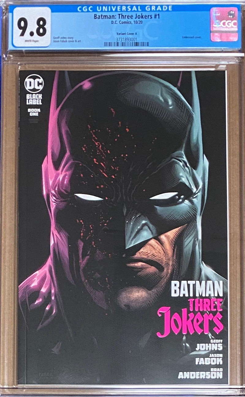 Batman: Three Jokers #1 Variant DC Black Label CGC 9.8