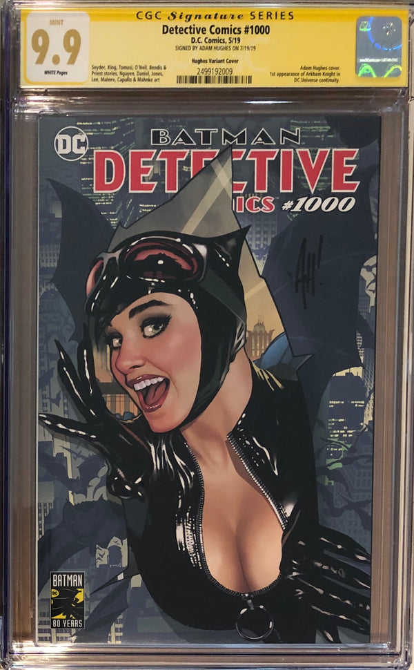 Detective Comics #1000 Adam Hughes Exclusive CGC 9.9 SS