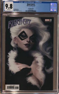 Black Cat #1 Artgerm Variant CGC 9.8