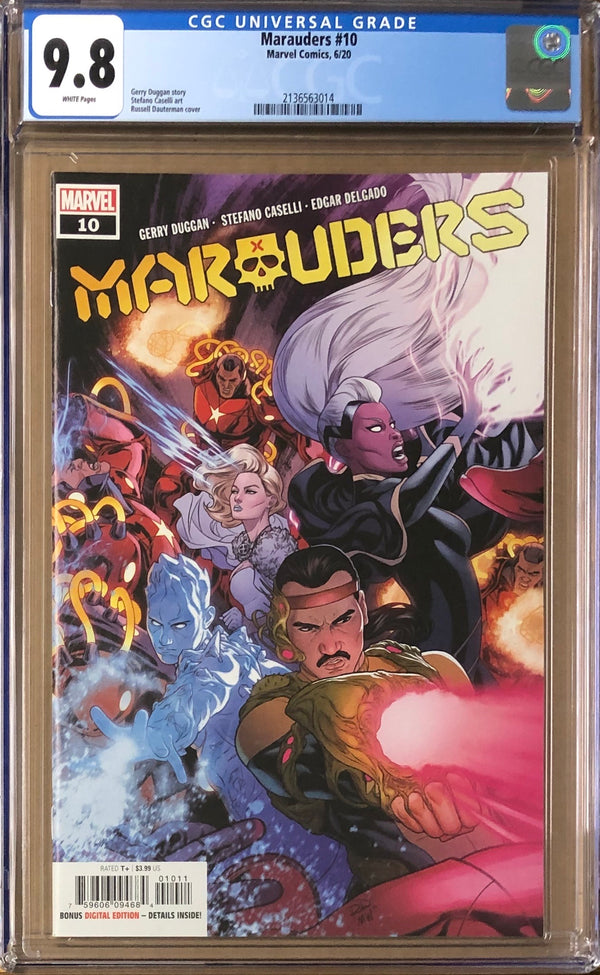 Marauders #10 CGC 9.8 - Dawn of X!