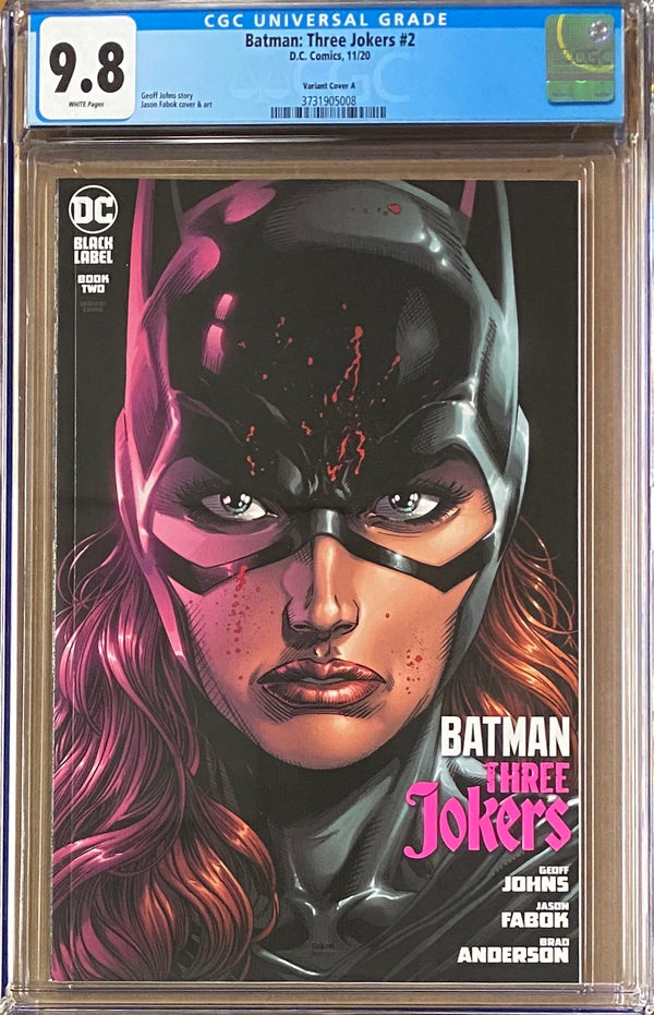 Batman: Three Jokers #2 Variant DC Black Label CGC 9.8