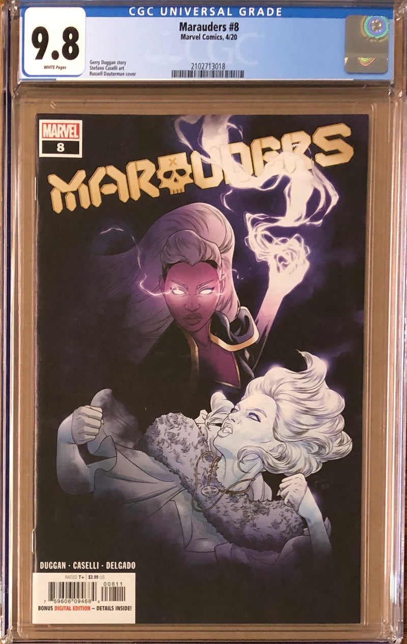 Marauders #8 CGC 9.8 - Dawn of X!