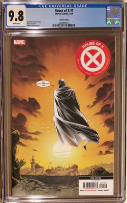 House of X #1 Third Printing CGC 9.8