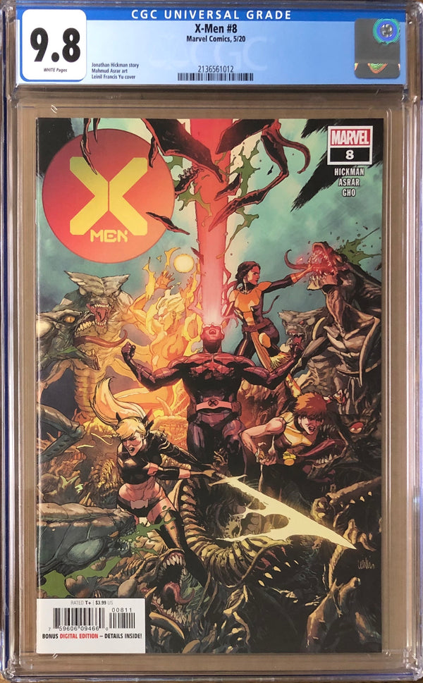 X-Men #8 CGC 9.8 - Dawn of X!