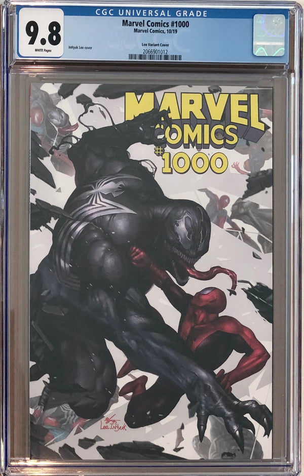 Marvel Comics #1000 InHyuk Lee Variant CGC 9.8