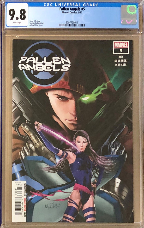 Fallen Angels #5 CGC 9.8 - Dawn of X!