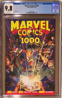 Marvel Comics #1000 Ross Cover CGC 9.8