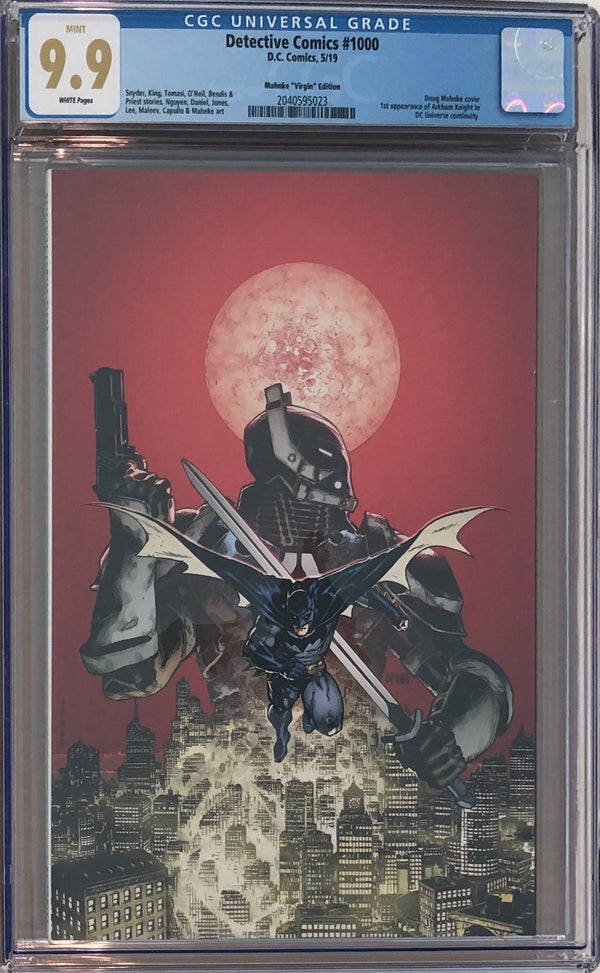 Detective Comics #1000 Doug Mahnke Virgin Exclusive CGC 9.9