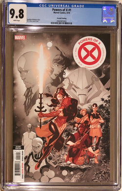 Powers of X #1 Second Printing CGC 9.8