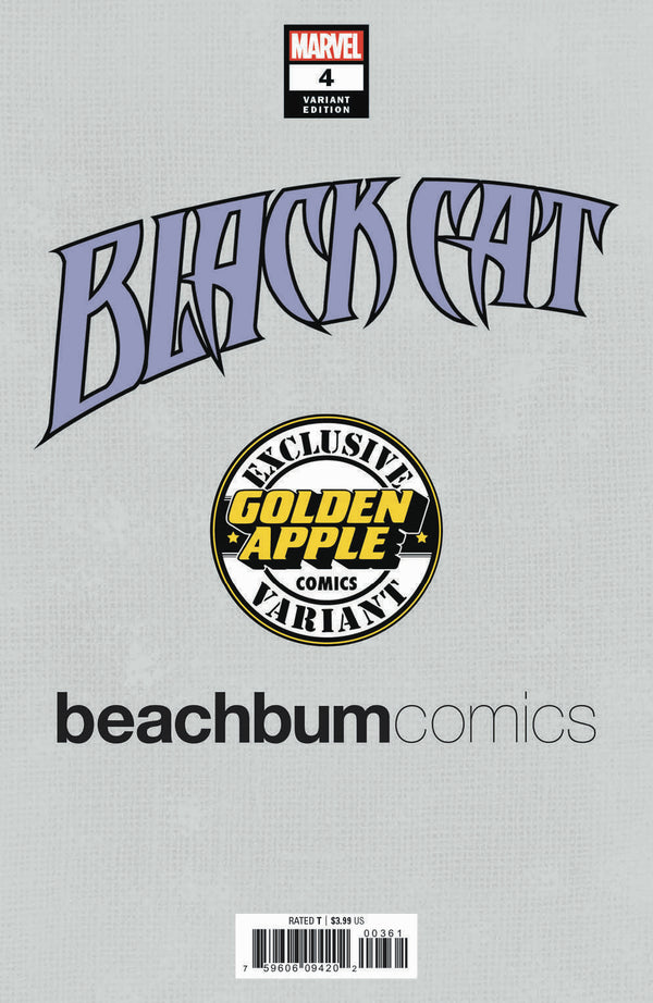 Black Cat #4 J. Scott Campbell BeachBum Comics Virgin Exclusive