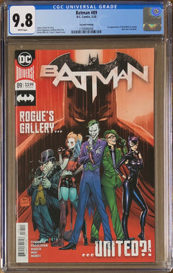 Batman #89 Second Printing CGC 9.8 1st Appearance of Punchline in Cameo