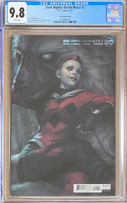 Dark Nights Death Metal #2 Artgerm Variant CGC 9.8