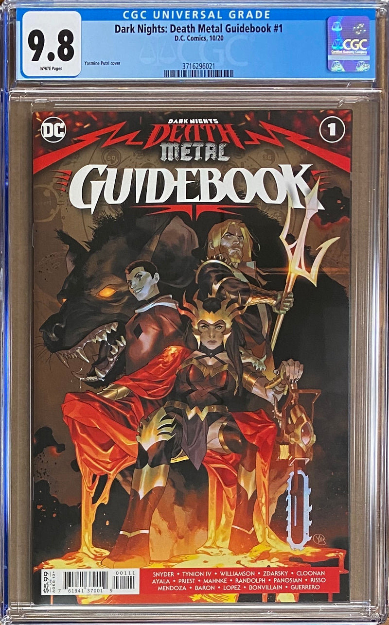 Dark Nights Death Metal: Guidebook #1 CGC 9.8
