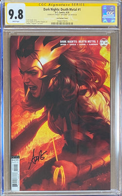 Dark Nights Death Metal #1 Artgerm Variant CGC 9.8 SS
