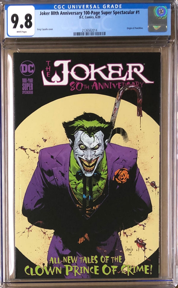 Joker 80th Anniversary 100 Page Super Spectacular #1 CGC 9.8