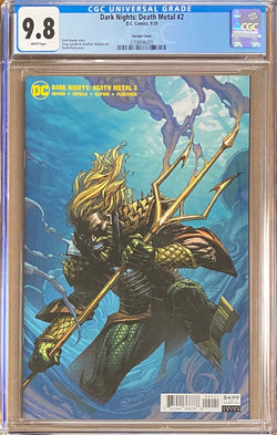 Dark Nights Death Metal #2 Finch Variant CGC 9.8