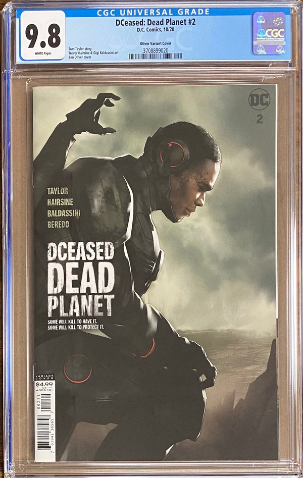 DCeased: Dead Planet #2 Oliver Movie Poster Variant CGC 9.8