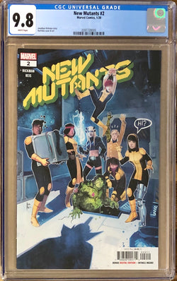 New Mutants #2 CGC 9.8 - Dawn of X!