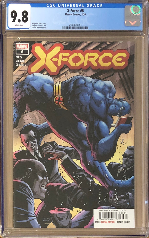 X-Force #6 CGC 9.8 - Dawn of X!
