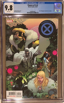Powers of X #2 CGC 9.8
