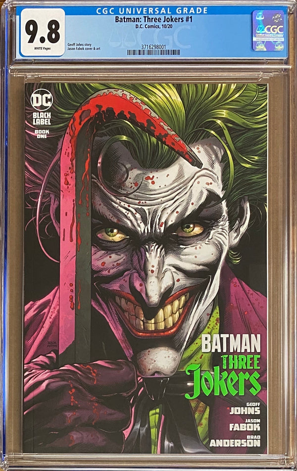 Batman: Three Jokers #1 DC Black Label CGC 9.8
