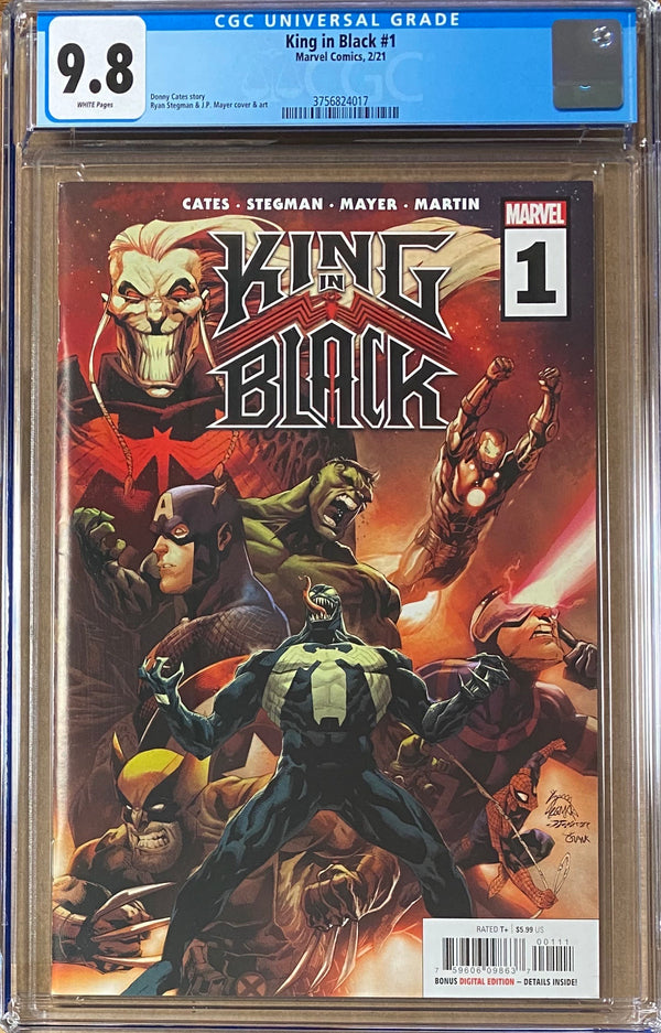 King in Black #1 CGC 9.8