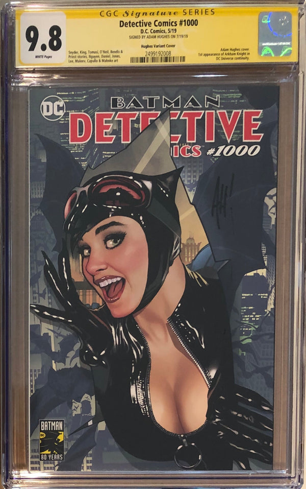 Detective Comics #1000 Adam Hughes Exclusive CGC 9.8 SS
